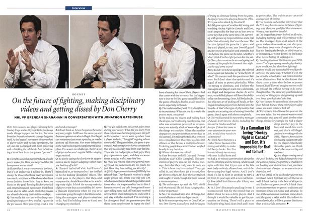Article Preview: Interview, October 31st 2011 | Maclean's