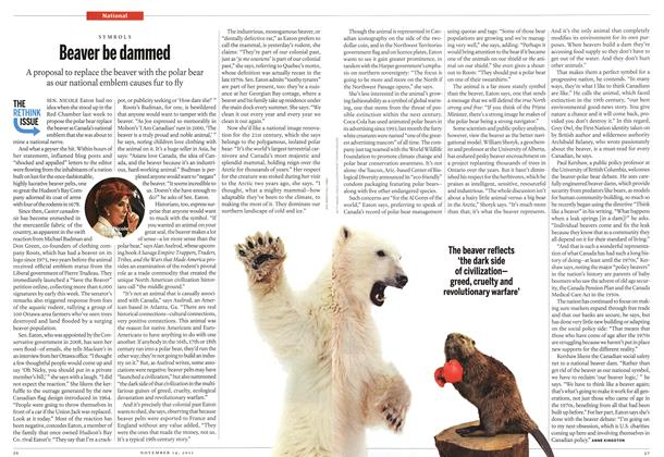 Article Preview: Beaver be dammed, November 14th 2011 | Maclean's