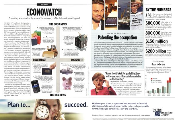 Article Preview: ECONOWATCH, November 14th 2011 | Maclean's