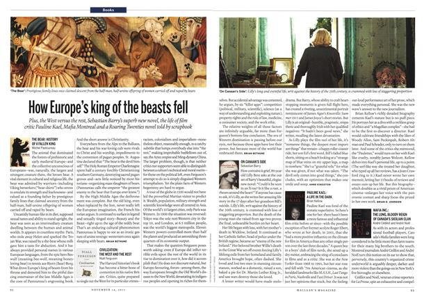 Article Preview: THE BEAR: HISTORY OF A FALLEN KING, November 14th 2011 | Maclean's