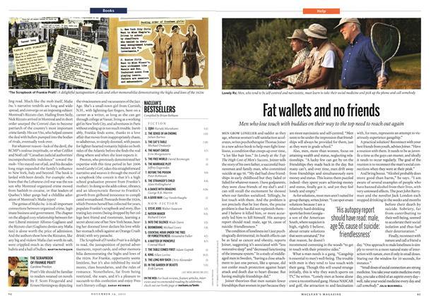 Article Preview: THE SCRAPBOOK OF FRANKIE PRATT, November 14th 2011 | Maclean's