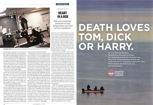 Article Preview: HEART IN A BOX, November 21st 2011 | Maclean's