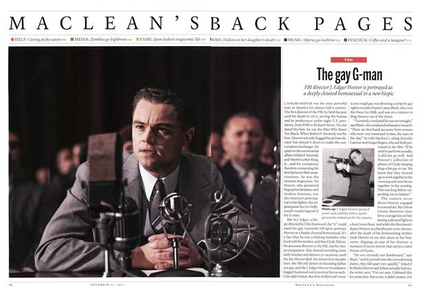 Article Preview: The gay G-man, November 21st 2011 | Maclean's