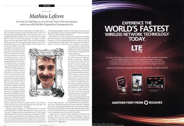 Article Preview: 1981-2011 Mathieu Lefevre, November 21st 2011 | Maclean's