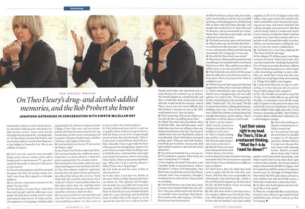 Article Preview: Interview, November 21st 2011 | Maclean's