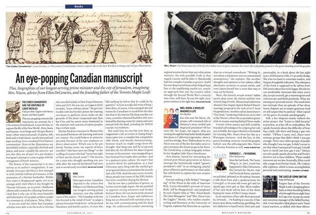Article Preview: An eye-popping Canadian manuscript, November 28th 2011 | Maclean's
