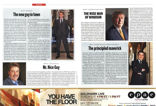 Article Preview: The new guy in town, December 2011 | Maclean's
