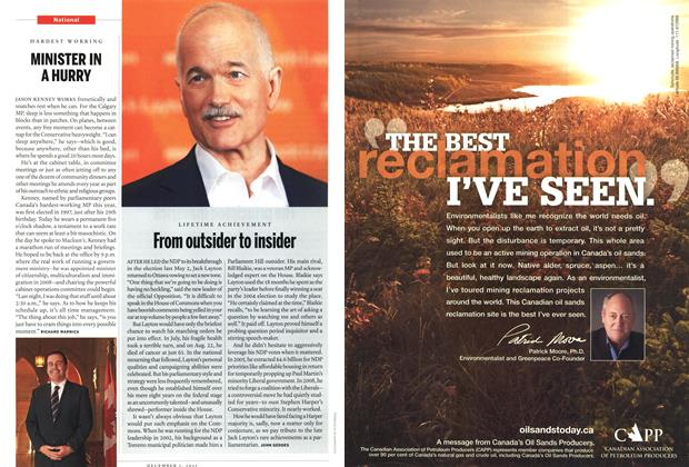 Article Preview: From outsider to insider, December 2011 | Maclean's