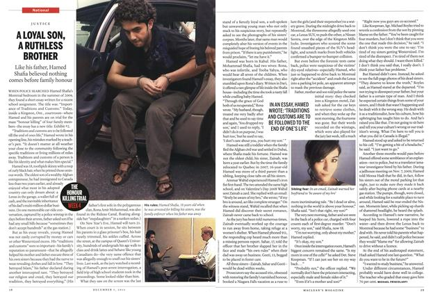 Article Preview: A LOYAL SON, A RUTHLESS BROTHER, December 5th 2011 | Maclean's