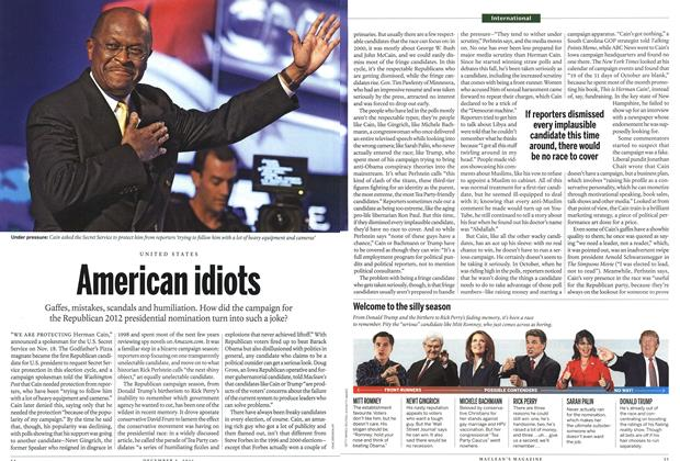 Article Preview: American idiots, December 5th 2011 | Maclean's