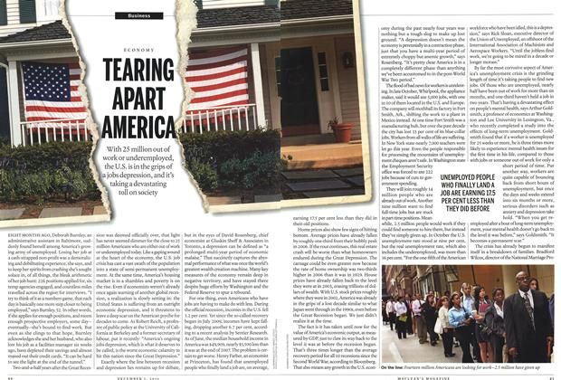 Article Preview: TEARING APART AMERICA, December 2011 | Maclean's