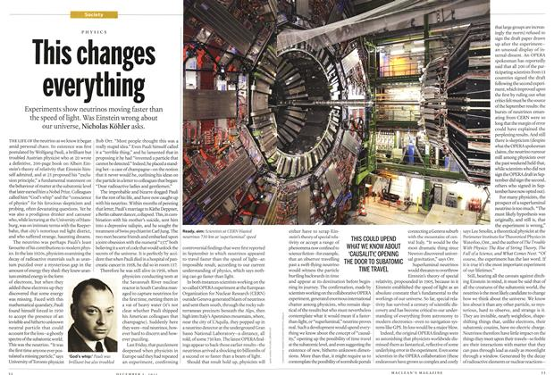 Article Preview: This changes everything, December 5th 2011 | Maclean's
