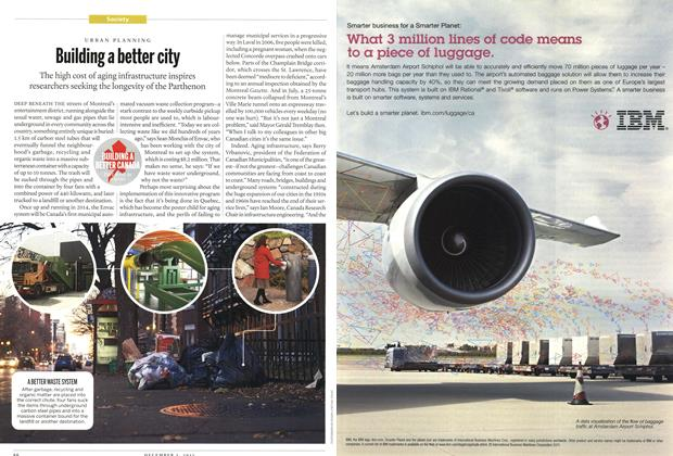 Article Preview: Building a better city, December 2011 | Maclean's