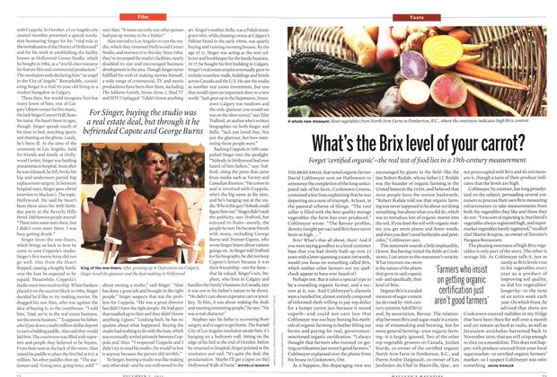 Article Preview: What's the Brix level of your carrot?, December 5th 2011 | Maclean's