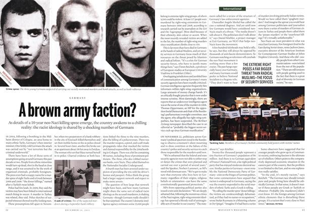 Article Preview: A brown army faction?, December 2011 | Maclean's