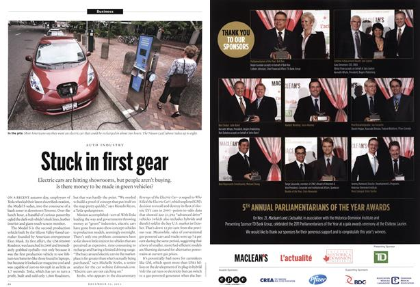 Article Preview: Stuck in first gear, December 2011 | Maclean's