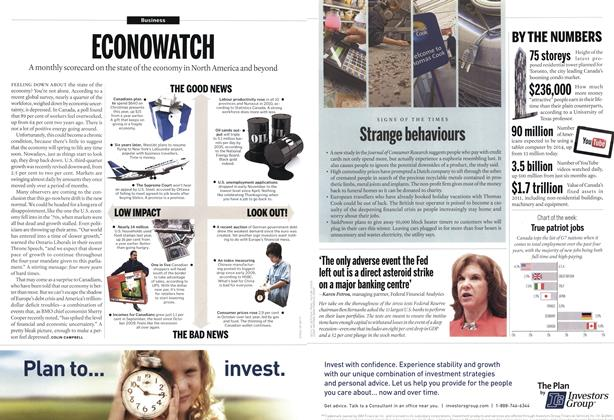 Article Preview: Strange behaviours, December 12th 2011 | Maclean's