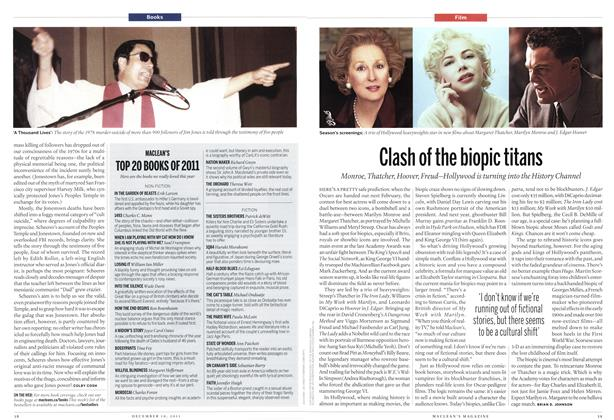 Article Preview: Clash of the biopic titans, December 12th 2011 | Maclean's