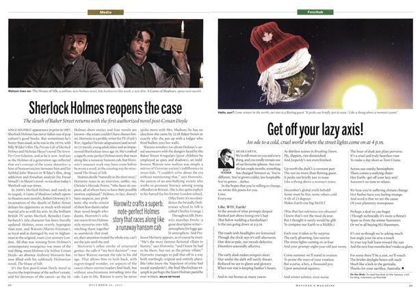 Article Preview: Get off your lazy axis!, December 12th 2011 | Maclean's