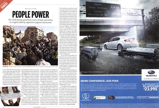 Article Preview: PEOPLE POWER, December 12th 2011 | Maclean's