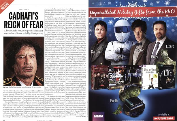 Article Preview: GADHAFI'S REIGN OF FEAR, December 2011 | Maclean's