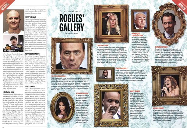 Article Preview: ROGUES' GALLERY, December 2011 | Maclean's