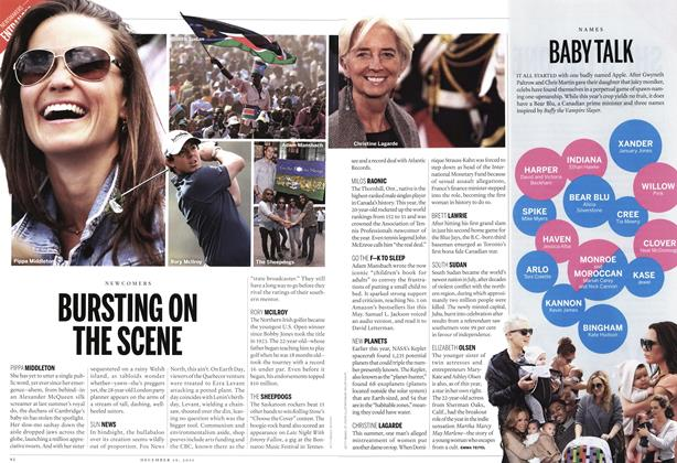 Article Preview: BABY TALK, December 12th 2011 | Maclean's