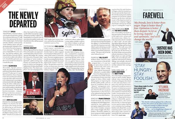 Article Preview: THE NEWLY DEPARTED, December 2011 | Maclean's
