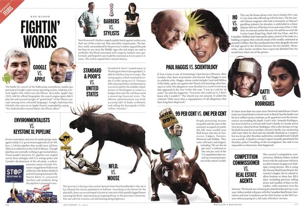 Article Preview: FIGHTIN' WORDSI, December 12th 2011 | Maclean's