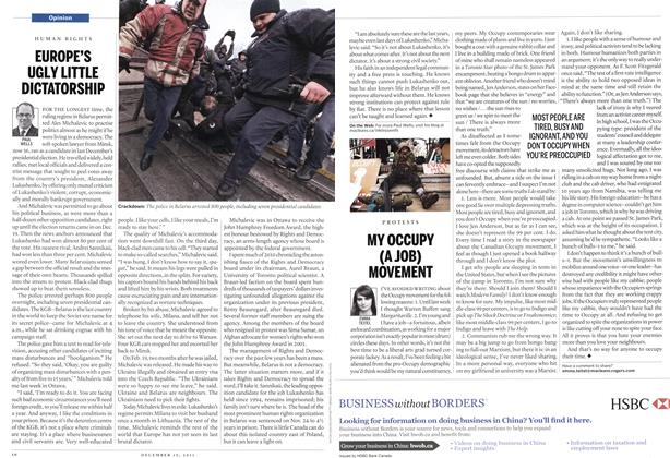Article Preview: EUROPE'S UGLY LITTLE DICTATORSHIP, December 12th 2011 | Maclean's