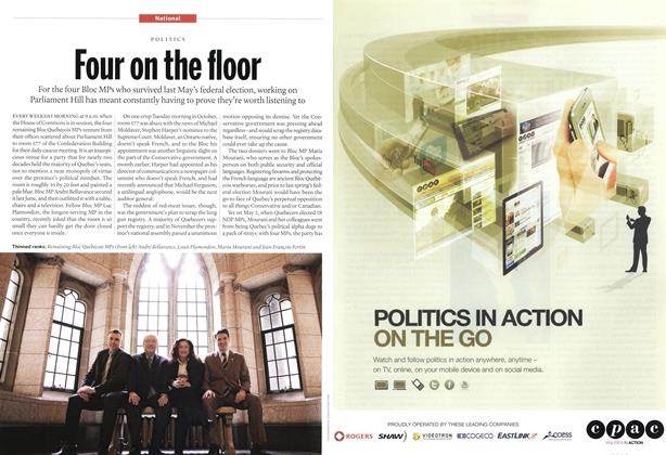 Article Preview: Four on the floor, December 2011 | Maclean's