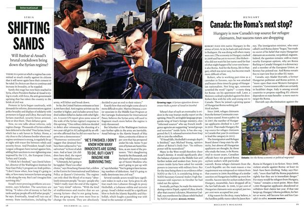 Article Preview: SHIFTING SANDS, December 26th 2011 | Maclean's
