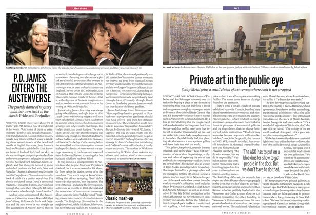 Article Preview: Private art in the public eye, December 2011 | Maclean's