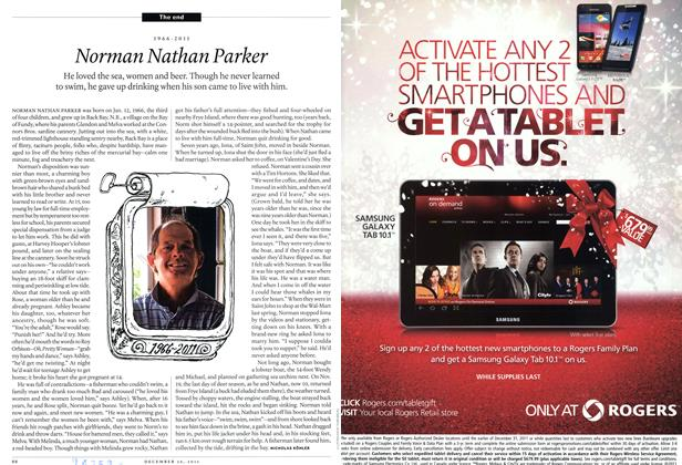 Article Preview: Norman Nathan Parker, December 26th 2011 | Maclean's
