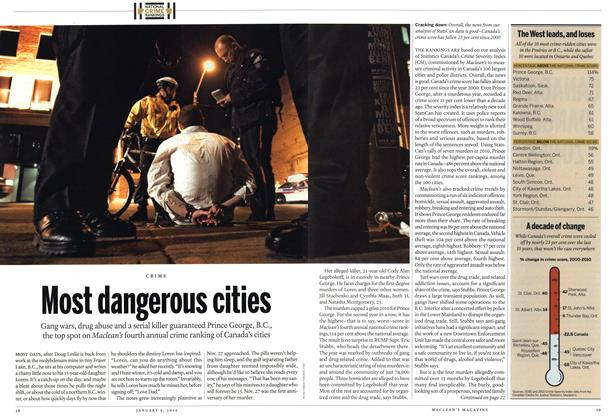 Article Preview: Most dangerous cities, January 2012 | Maclean's