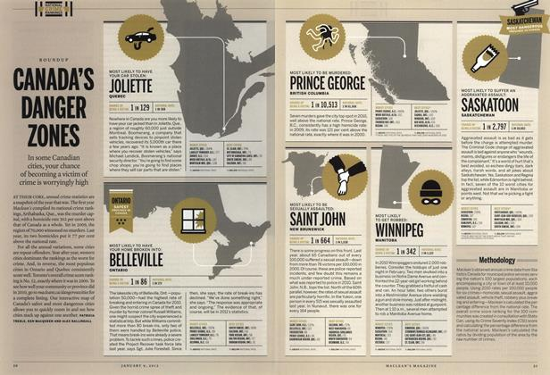 Article Preview: CANADA'S DANGER ZONES, January 2012 | Maclean's