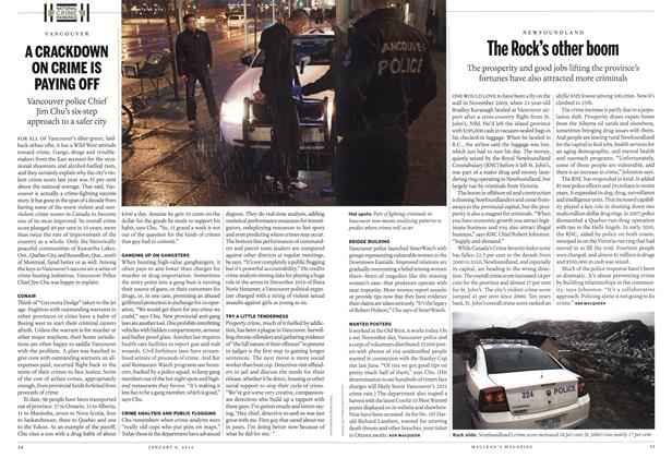 Article Preview: The Rock's other boom, January 2012 | Maclean's