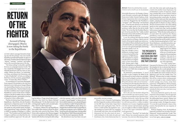 Article Preview: RETURN OF THE FIGHTER, January 2012 | Maclean's