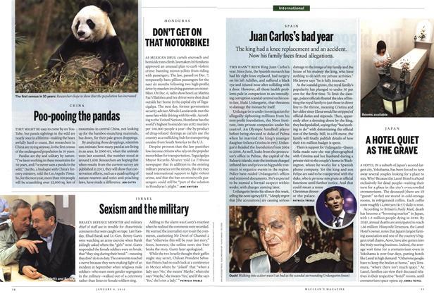 Article Preview: Sexism and the military, January 2012 | Maclean's