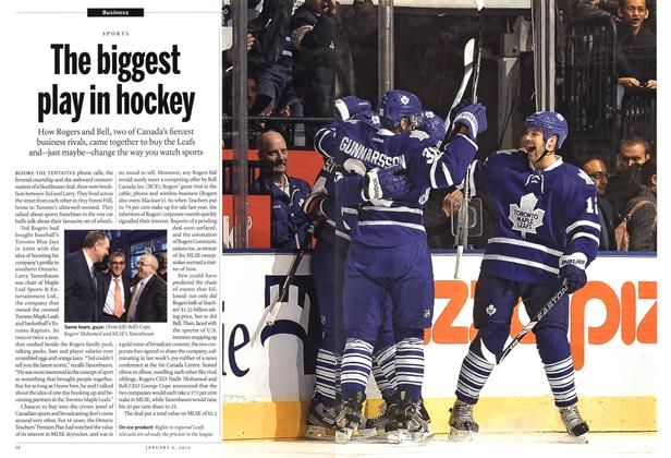Article Preview: The biggest play in hockey, January 2012 | Maclean's