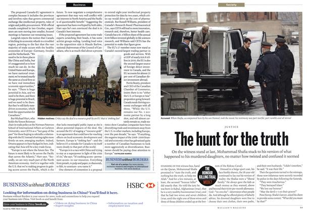 Article Preview: The hunt for the truth, January 2012 | Maclean's