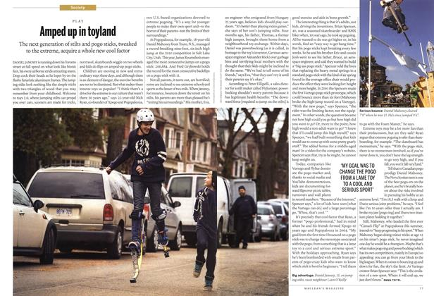 Article Preview: Amped up in toyland, January 2012 | Maclean's