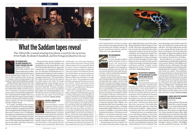 Article Preview: What the Saddam tapes reveal, January 2012 | Maclean's