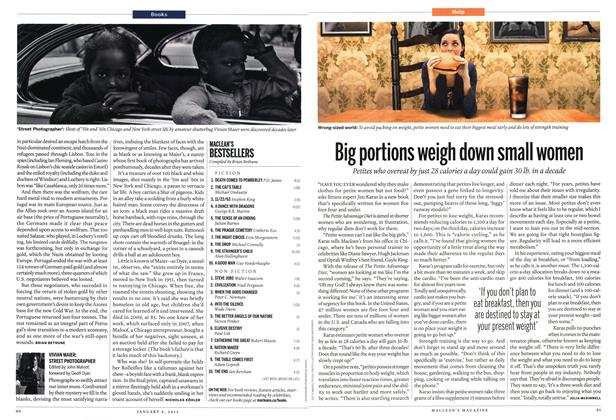 Article Preview: Big portions weigh down small women, January 2012 | Maclean's
