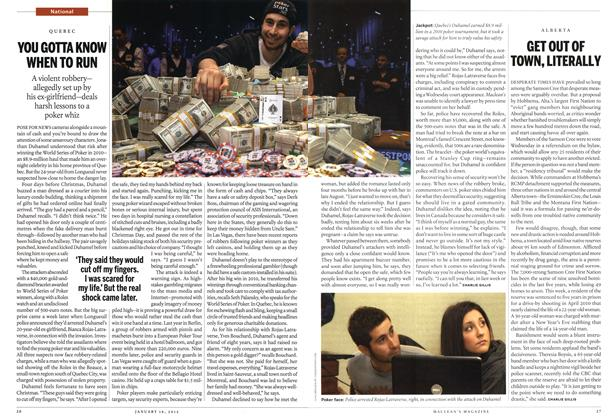 Article Preview: GET OUT OF TOWN, LITERALLY, January 2012 | Maclean's