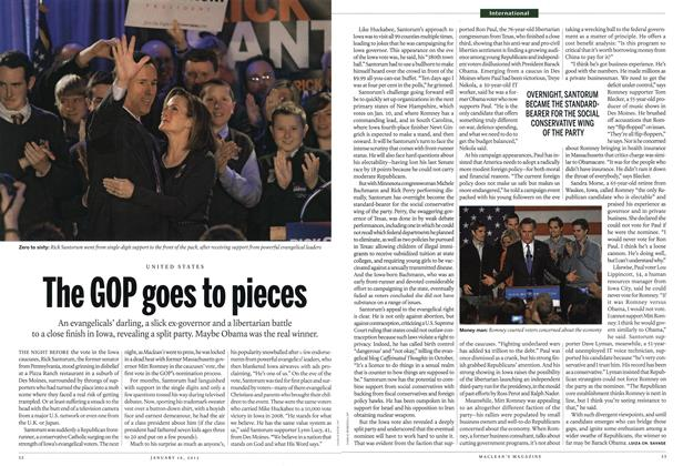 Article Preview: The GOP goes to pieces, January 2012 | Maclean's