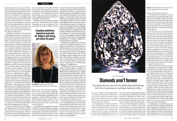 Article Preview: Diamonds aren't forever, January 2012 | Maclean's