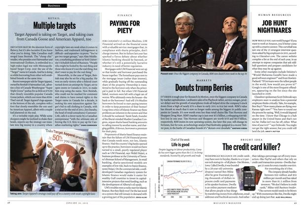 Article Preview: The credit card killer?, January 2012 | Maclean's