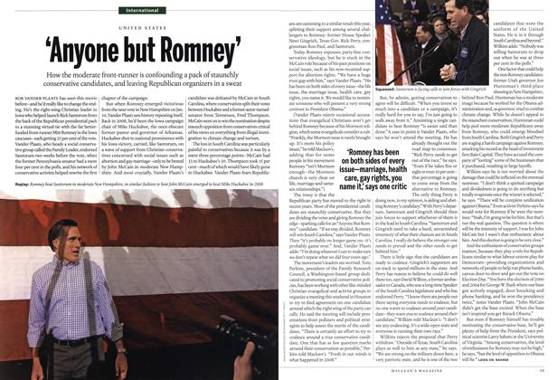 Article Preview: 'Anyone but Romney', January 2012 | Maclean's