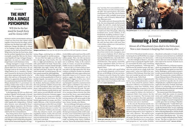 Article Preview: Honouring a lost community, January 2012 | Maclean's
